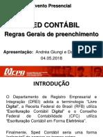 ECD-SPED CONTÁBIL - 2018