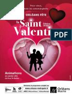 Saint-Valentin à Orléans, Programme