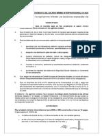 Acuerdo para el aumento del SMI en 2020