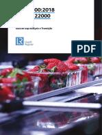 ISO 22000 vs outros referenciais