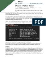 KTD-00734-J BFlash User Manual