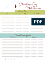 Lil Boo & Co. - Holiday Planner Printables