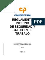 GG-GEN1-R-16 Reglamento Interno de Seguridad y Salud en el Trabajo Rev. 0.pdf