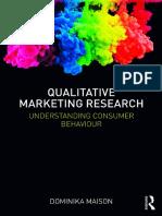Maison, Dominika - Qualitative marketing research_ understanding consumer behaviour-Routledge (2019)