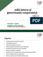 Audit intern si guvernanta corporativa