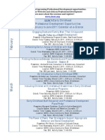 10-11 ECE PD Calendar
