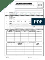 NON Faculty Job Application Form