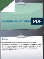 COMUNICAREA NONVERBALA