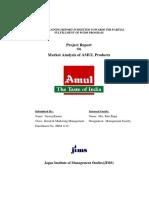 market study.amul pdf