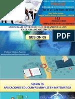 Sesion 05 I-12 Aplicaciones Moviles II -2020