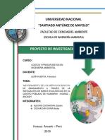 PROYECTO DE BAÑOS ECOLÓGICOS