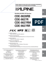 Alpine Car Audio Manual En