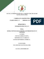EXTRACCIÓN DE GRASAS RESIUALES