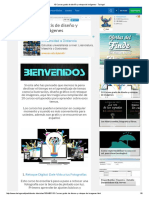10 Cursos gratis de diseño y retoque de imágenes