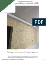Firma renovari - Renovare Frumoasa Apartament 2 Camere 2020