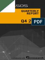 Prasos Quarterly Report q4 2019