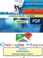 Sesion 02 Google Maps - Earth 2020