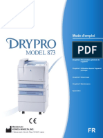 DRYPRO 873 Operation Manual_French_0992BA01FR02