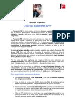 Informe `Jóvenes Españoles 2010´