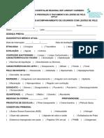 Formulário de Acompanhamento de feridas