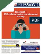 250 cabinets de recrutements au Top