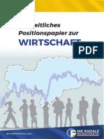 Freiheitliches Positionspapier | Wirtschaft