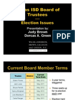 What if Dallas ISD trustees move the elections from May to November?