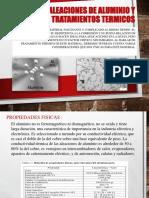 ALEACIONES DE ALUMINIO Y TRATAMIENTOS TERMICOS