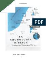 La Cronologia Bíblica - Luis Díez Encinas