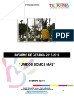 2. Informe de gestión 2019 Teorama Vers. 3_Final
