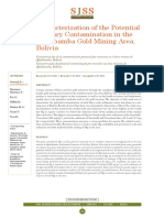 Characterization Of The Potential Mercury Contamination