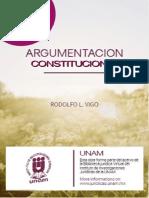 Argumentacion Constitucional Vigo