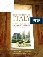 For the Love of Italy by Marella Caracciolo - Excerpt