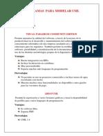 PROGRAMAS UML