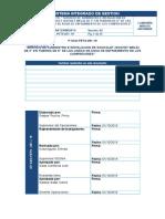 """OP-SSO-PETS-051-19 (SERVICIO DE SUMINISTRO E INSTALACION DE SOCKOLET (SOCKET WELD) DE 3"""" EN TUBERIA DE 8"""" DE LAS LINEAS DE AGUA DE ENFRIAMIENTO DE LOS COMPRESORES).doc"""
