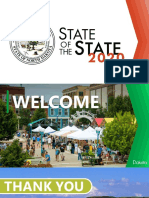 State of the State 2020 - Presentation