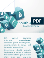 Group 5 BSN2B South Africa's Economic Policy
