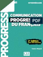 Feuilletage Communication Progressive A2 B1 Intermédiaire