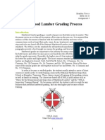 Process Description - Hardwood Lumber Grading