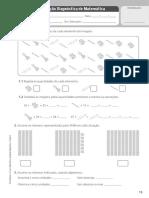 Fichas de avaliação de Matemática 2 Fantásticos