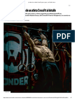 La dieta de un atleta CrossFit paso a paso, con Rubén Insua