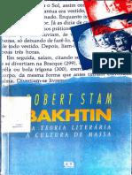 STAM, Robert - Bakhtin, da teoria literária à cultura de massa