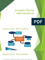 Principales Teorías Administrativas I cuatri