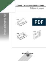 MANUAL METTLER TOLEDO ICS425