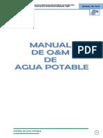 MANUAL DE AGUA POTABLE