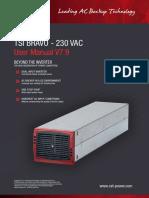 CET-Modular-Inverter-User-Manual-Bravo-TSI-230Vac-EN-v7.9