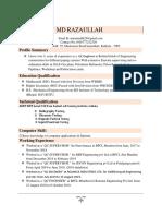 imran Mallik.. New resume . ..