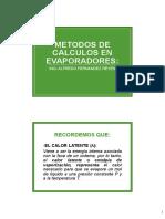 CALCULOS_EN_EVAPORADORES