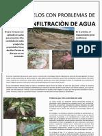 TEREYESO - Mejora los problemas de infiltraciòn en los suelos