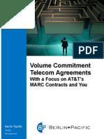 Volume Commitment Telecom Agreements